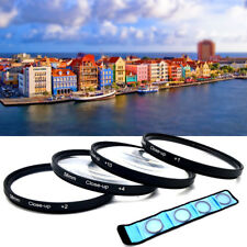 For Nikon/Canon DLSR EOS Rebel 52/58mm Close Up Macro 1 +2 + 4 +10 Filter Kit