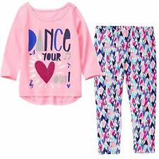 Gymboree 2T Mix N Match DANCE YOUR HEART OUT TEE LEGGINGS PANTS NWT