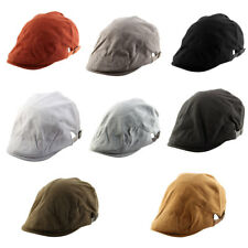 Men Women Vintage Style Newsboy Duckbill Ivy Cap Driving Casual Flat Beret Hat