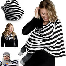 Newborn Infant Nursing Cover Baby Car Seat Canopy Cart Cover Multi-Use
