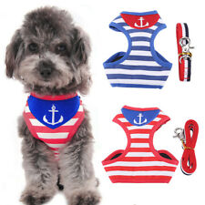 Breathable Pet Harness Dog Clothes Puppy Dog Cat Vests Necklace Dog Leash Rope