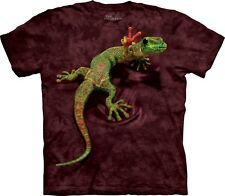 Peace Out Gecko Reptile T Shirt Child Unisex The Mountain