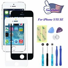 Front Outer Screen Glass Lens Replacement for iPhone 5/ 5S SE Repair Tools Kit