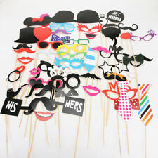 Glasses Lips Photo Booth Props Mask Mustache On Stick Party Wedding Birthday