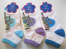 "NEW WOMENS BETTY BOOP ""KISS FOR LUCK"" ANKLET SOCKS SIZE 9-11 YOU CHOOSE COLOR"