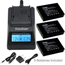 KLIC-5001 Battery & Fast Charger for Sanyo Xacti DMX-WH1 VPC-HD2000 DMX-HD1010
