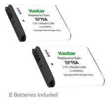 Kastar BP-70A Battery for Samsung PL170 PL200 PL201 SL50 SL600 SL605 SL630 ST30