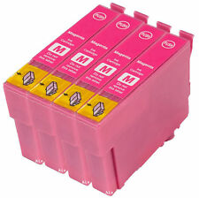 4 Compatible E483 Magenta Ink jet Print Cartridge, For T0483 TO483