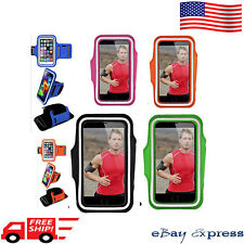 New Sport Armband Case Cover iPhone Pouch Holder Samsung Galaxy S6 S8 + S7 Edge