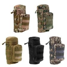 MagiDeal Military Tactical Hiking MOLLE Zipper Water Bottle Pouch Bag