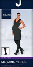Sigvaris SOFT OPAQUE MATERNITY PANTYHOSE Compression Tights 20-30mmHg, All Sizes