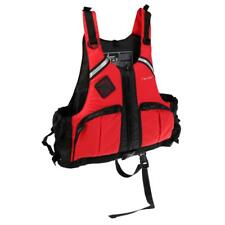 S - XXL Adult Safety Life Jacket Survival Vest Swimming Fishing Kayaking Red