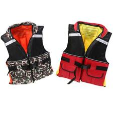 Adult Buoyancy Life Jackets Vest Outdoor Sailing Kayaking Canoeing Fishing