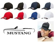 1964 Ford Mustang Convertible Classic Car Color Outline Design Hat Cap