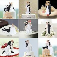 Synthetic Resin Bride & Groom Wedding Cake Topper Wedding Party Decoration H7L9