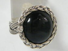 New SHABLOOL Fine Ring Black Onyx Women Jewelry 925 Sterling Silver