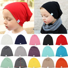 Cute Baby Girls Boys Soft Cotton Infants Beanies Toddler Kids Hats Leisure Caps