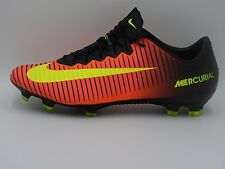 Nike Mercurial Vapor XI FG ACC Soccer Cleats 831958-870,Crimson,Men's 9,11,13