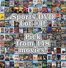Sports DVD Lot #1: 148 Movies to Pick From! Buy Multiple And Save!