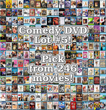 Comedy DVD Lot #5: 246 Movies to Pick From! Buy Multiple And Save!