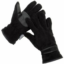 Mens RJM Thermal Thinsulate Fleece Autumn Winter Gloves with Palm Grips GL127