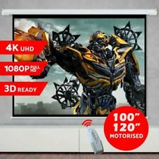 """100"""" 120"""" Fixed Aluminum Frame Projector Screen Home Theatre HD TV Projection 3D"""