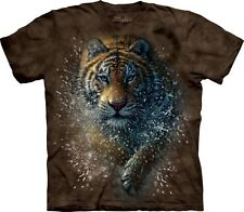 Tiger Splash Big Cats T Shirt Adult Unisex The Mountain