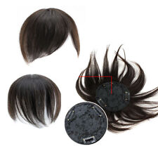 30g High quality Women 100% real Human HairToupee With Clip In Hair Extensions