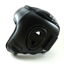 New MMA Head Gear Head Protector Helmet Guard MMA Martial Arts Training Headgear