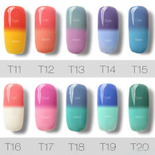 7ML Colorful Temperature Color Change Gel Nail Art Fashion UV Gel Polish NEW
