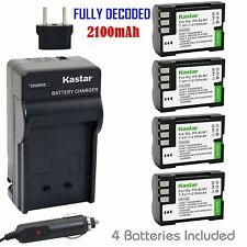 PS-BLM1 Battery & Regular Charger for Olympus E-30, EVOLT E-330, EVOLT E-500