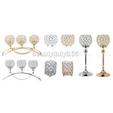 Magideal Crystal Votive Tealight Candle Holder Wedding Party Centerpieces- PICK