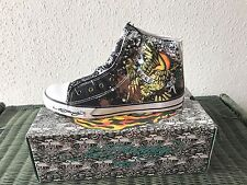 Ed Hardy Mens Shoes NEW Sneakers with box high rise Born Free Eagle Camp