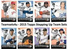 2015 Topps Stepping Up Baseball Set ** Pick Your Team **