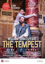 TEMPEST (SHAKESPEARE'S GLOBE THEATRE) USED/ LIKE NEW 2 DVDS