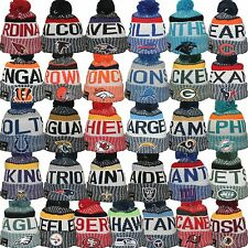 New Era 2017-2018 NFL On Field Sideline Sport Knit Beanie Collection Team Colors