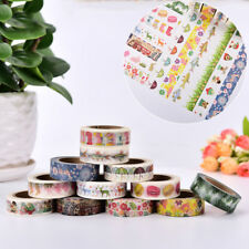 Christmas Sticky Paper Adhesive Roll Paper Tape Notebook Boxes Decoration 1 Roll