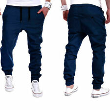 Men Trousers Sweatpants Harem Pants Slacks Casual Jogger Sportwear Dance Baggy 0