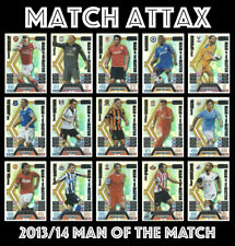 TOPPS MATCH ATTAX 2013 2014 13/14 MAN OF THE MATCH