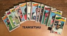 1977 Topps Football Team Sets (EX Cond) ** Pick Your Team Set **