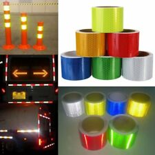 50mm x 3m Safety Warning Reflective Conspicuity Tape Adhesive Sticker Trucks Car