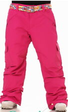 "686 Womens Ladies Ski Snowboard Insulated Waterproof Pants Size M = 33"" /L = 36"""