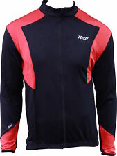 Netti Long Sleeve Winter Bike Jersey Black/Red
