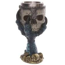 MagiDeal 3D Skull Halloween Spooky Warrior Cup Goblet Coffee Mug Wine Bottle