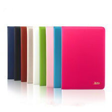 Magnetic Premium Real Genuine Leather Case Smart Cover For Apple iPad 234 Mini