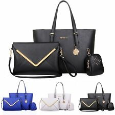3PCS set Fashion Women Handbag Shoulder Bags Totes Messenger Bag Purse