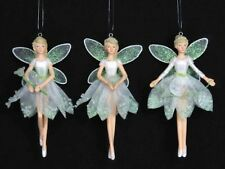 Gisela Graham Snowdrop Fairy Christmas Tree Decorations Angel Figurine Fairies
