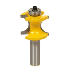 Milling Cutter Roundover and Beading Router Bit Wood Cutter Shank 5 Sizes
