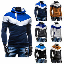 Hooded Thick Fleece Sweat Mens Warm Hoodies Slim Fit Casual Coat Jackets I0005