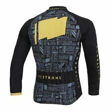 LIVESTRONG LANCE ARMSTRONG Cycling Jersey Long Sleeve Shirt Winter Bike Ropa Cic